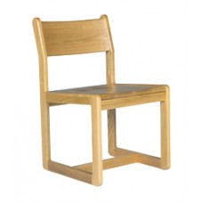 Brycen Side Chair w/Wood Seat & Back