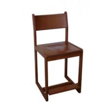 Brycen Bar Stool w/Wood Seat & Back