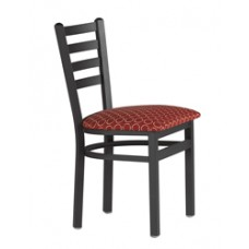 Sedona Metal Chair w/Upholstered Seat
