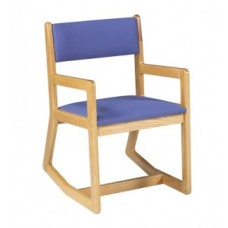 Webster Arm Chair w/Upholstered Seat & Back