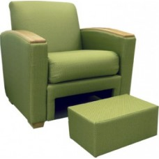 Belair Chair w/Ottoman
