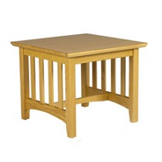 Mission Square End Table