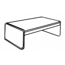 Panel Leg Coffee Table