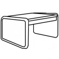 Panel Leg Rectangular Table