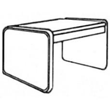Panel Leg Square Table