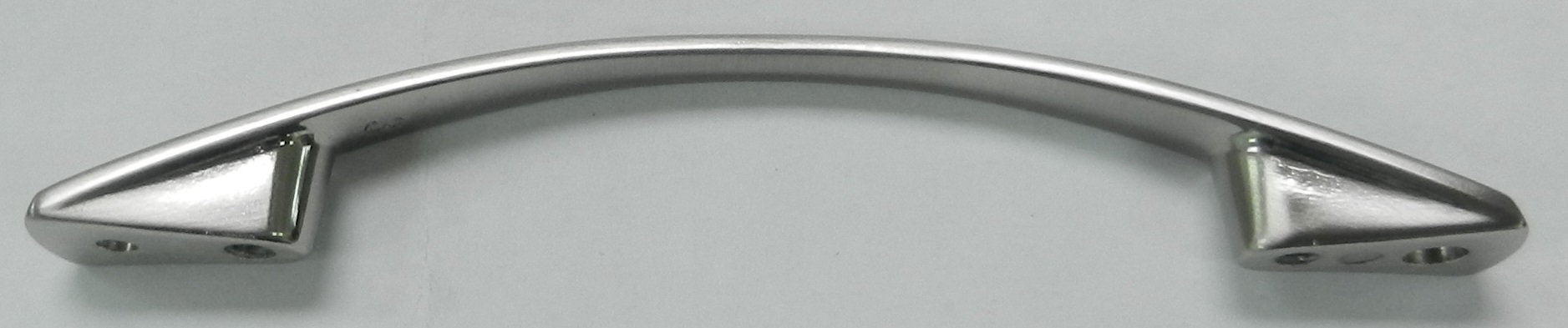 Metal Tapered Arch Pull, Nickel